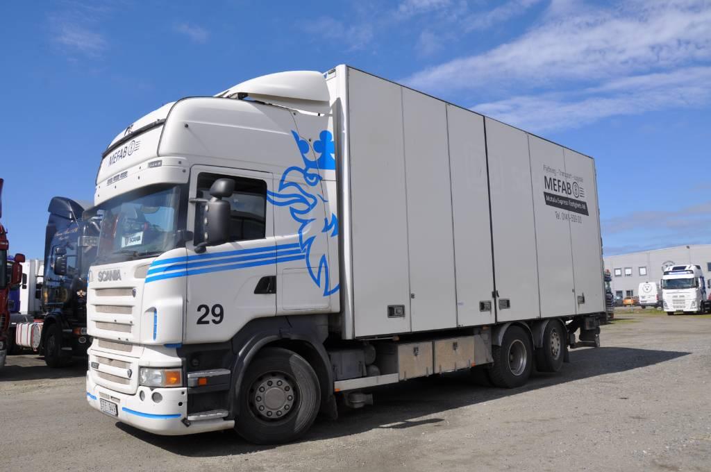Scania R500 6X2, Skåpbilar, Transportfordon