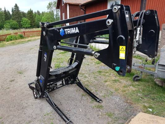 Ålö Trima +2.0P, Frontlastare och grävare, Lantbruk