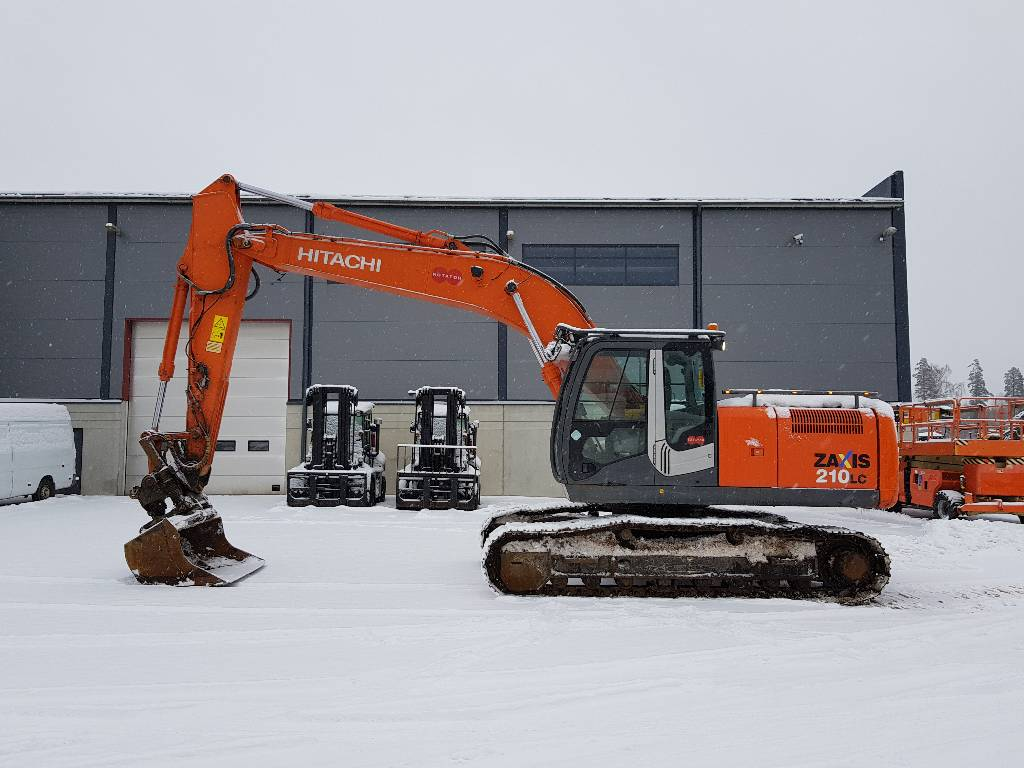 Hitachi ZX210LC-3, Crawler Excavators, Construction Equipment