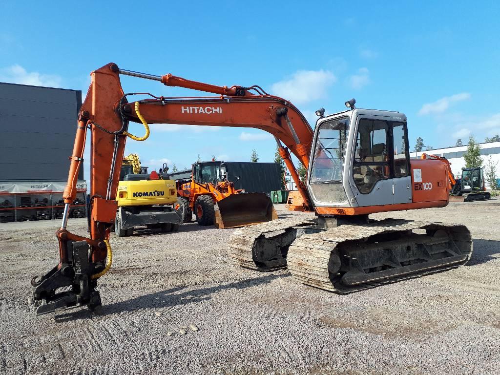 Hitachi EX100M, Crawler excavators, Construction