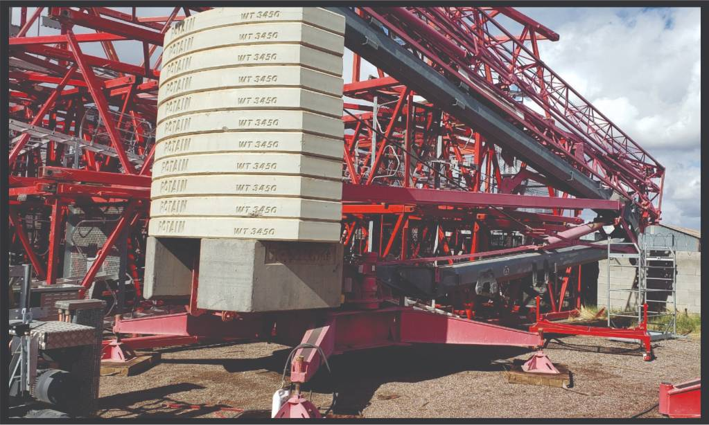 Potain HD 40 A, Tower Cranes, Construction Equipment