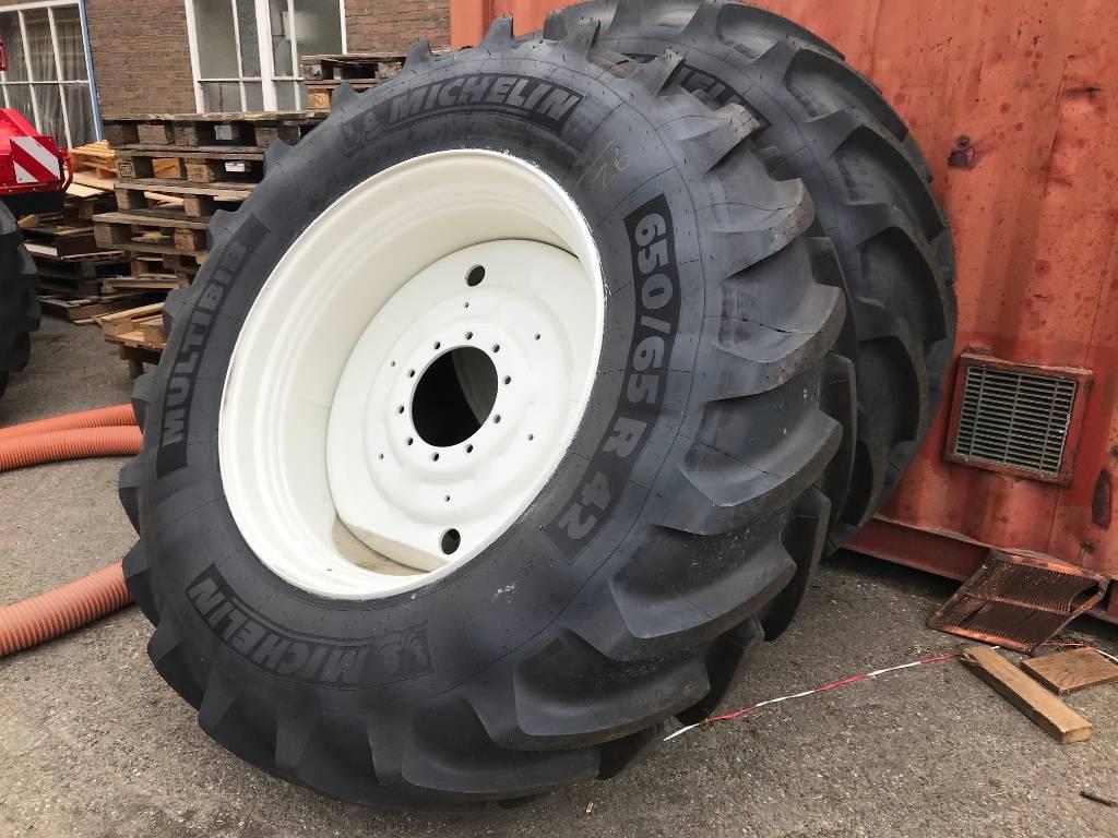 Michelin 600/65R28 en 650/65R42, Banden, wielen en velgen, All Used Machines
