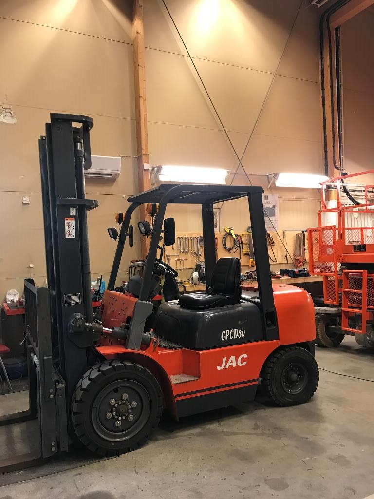 JAC 3 ton D GRCD30, Dieselmotviktstruckar, Materialhantering