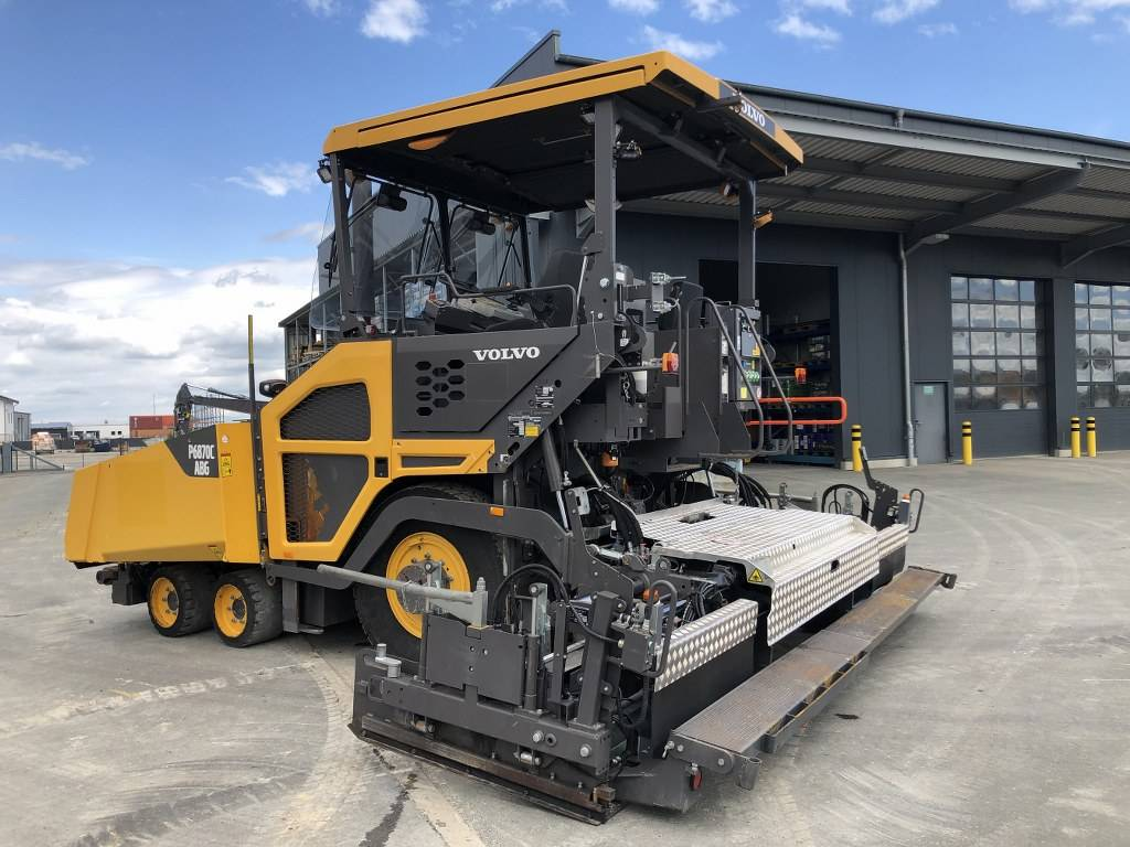 Volvo P 6870 C ABG, Asphalt pavers, Construction Equipment