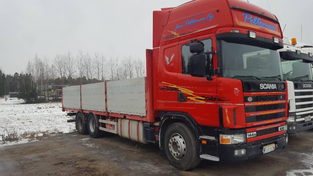 Scania R144 6x4, Lava-kuorma-autot, Kuljetuskalusto