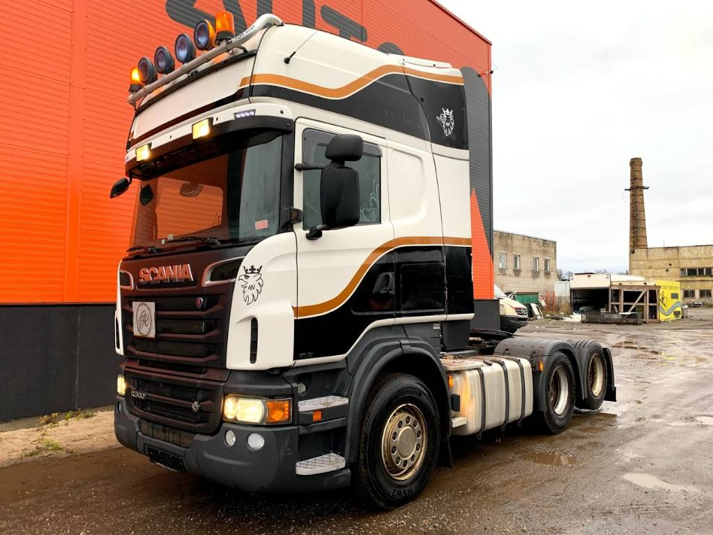 Scania R 560 Retarder 6x2, Conventional Trucks / Tractor Trucks, Trucks and Trailers