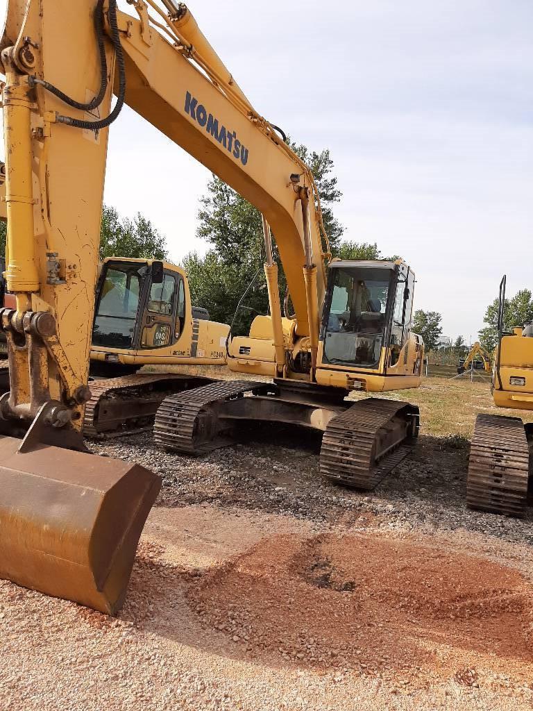 Komatsu PC240NLC, Crawler Excavators, Construction Equipment