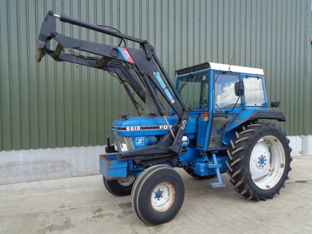 Ford 6610 c w quicke 4300 loader
