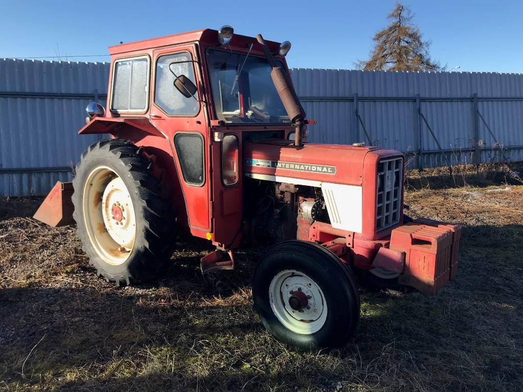 IH 475, Traktorer, Lantbruk