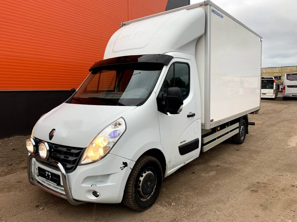Renault Master 2014, Box trucks, Trucks and Trailers