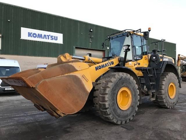 Komatsu WA480-8EO, Wheel Loaders, Construction Equipment