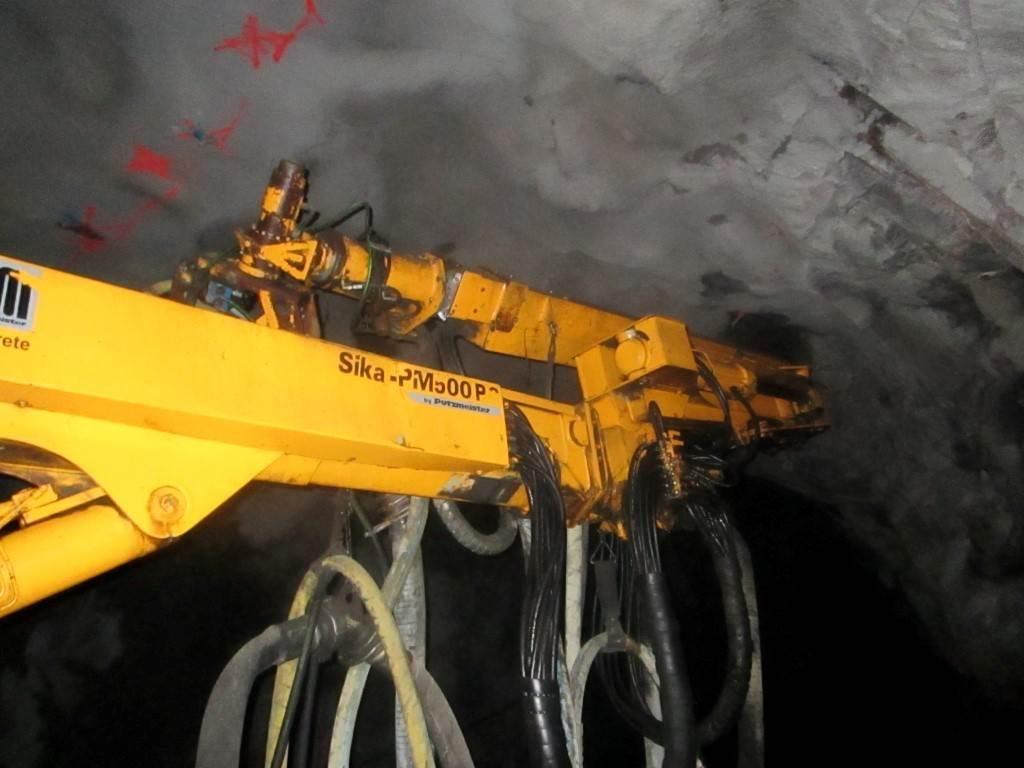 Putzmeister Sika PM 500 PC med dieselgenerator, Övrig gruvutrustning, Entreprenad