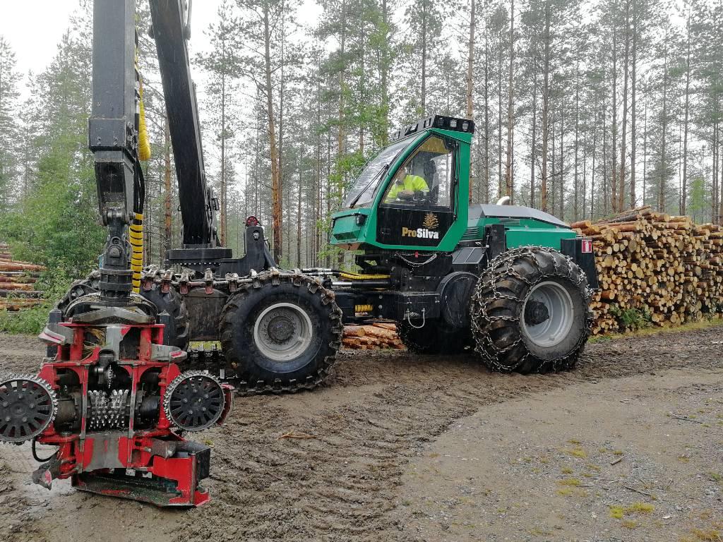 Prosilva S6, Harvesterit, Metsäkoneet