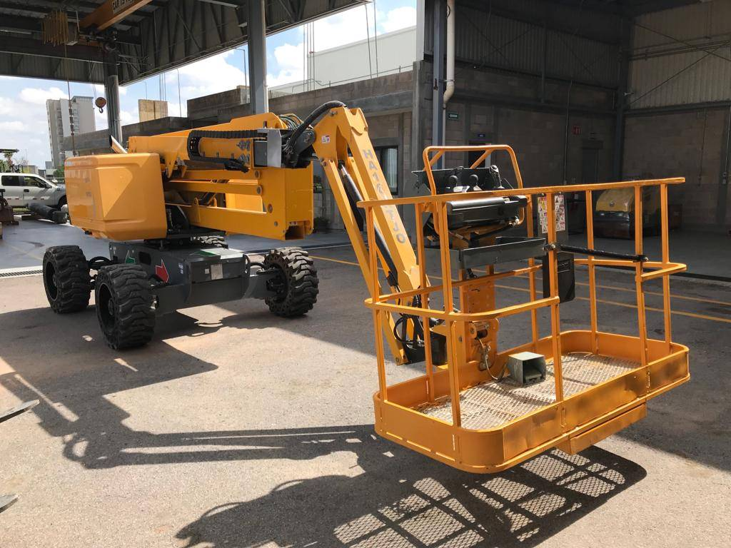 Haulotte HA16RTJO 262, Articulated boom lifts, Construction Equipment