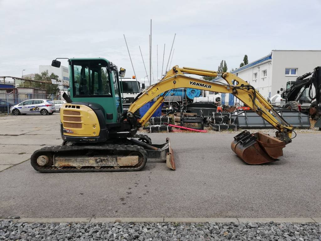 Yanmar ViO50-U, Mini excavators < 7t (Mini diggers), Construction