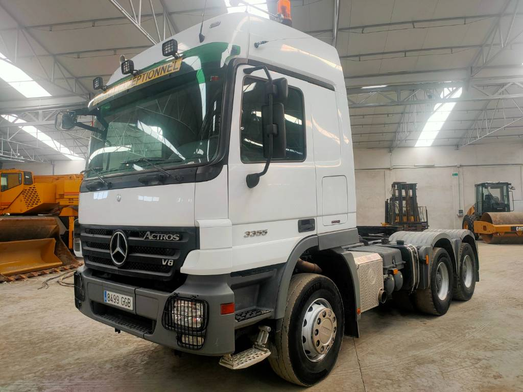 Mercedes-Benz 3355, Cabezas tractoras, Transporte