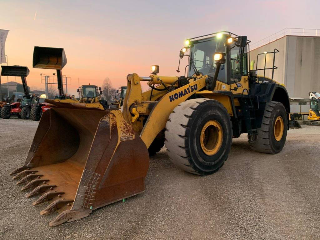 Komatsu WA470-7, Wheel Loaders, Construction Equipment