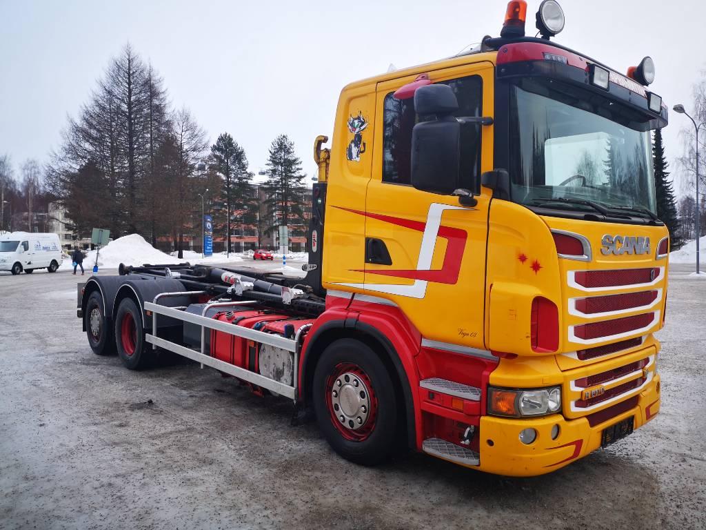 Scania R 500 6x2*4 Pyydä ERIKOISTARJOUS, Koukkulava kuorma-autot, Kuljetuskalusto
