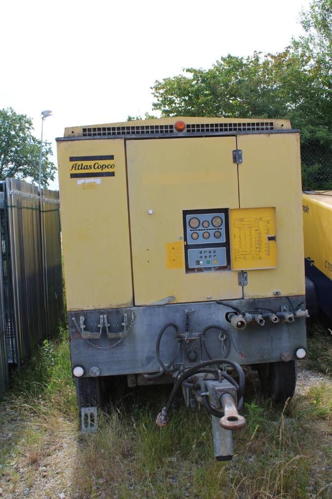 Atlas Copco XAHS 285, Kompressoren, Baumaschinen