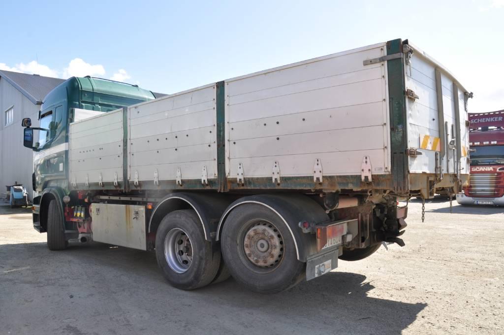 Scania R480 6X2, Tippbilar, Transportfordon