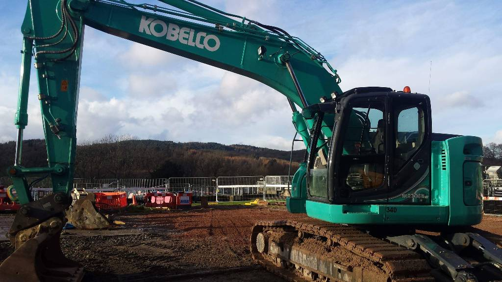 Kobelco SK 270 LC, Crawler excavators, Construction