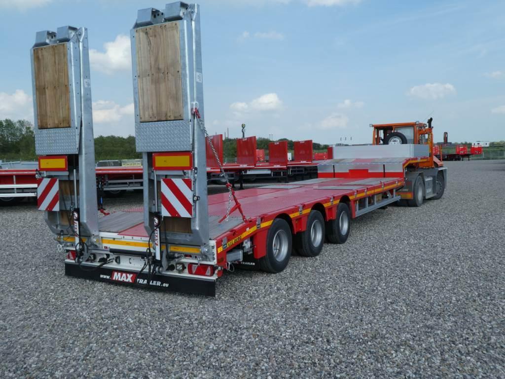 Max trailer S300M - Kombi trailer m hydraulisk gulv 6m uttrekk, Andre hengere, Transport
