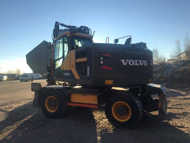 Volvo EW 160 E, Wheeled Excavators, Construction Equipment