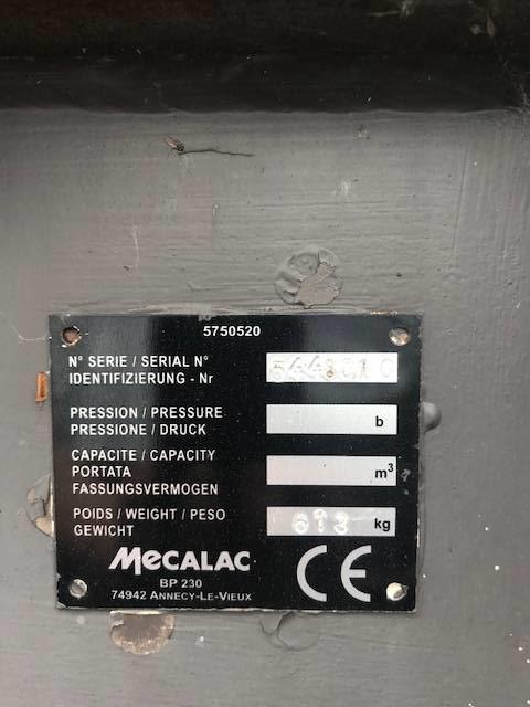 Mecalac 4-in-1 Bak 10MCR, Bakken, Bouw