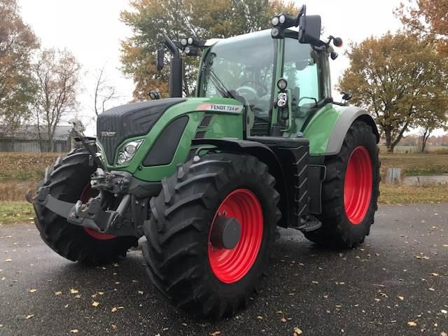Fendt 724 SCR Profi Plus, Tractoren, Landbouw