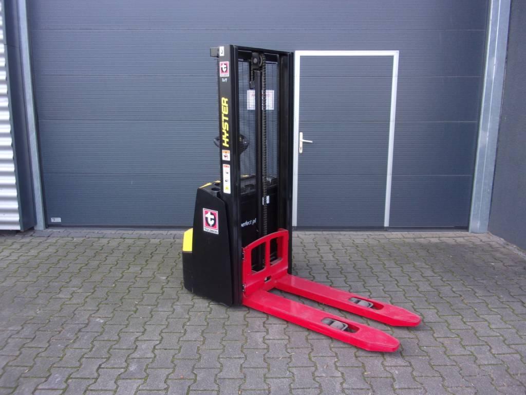 Hyster S1.0E, Pedestrian stacker, Material Handling