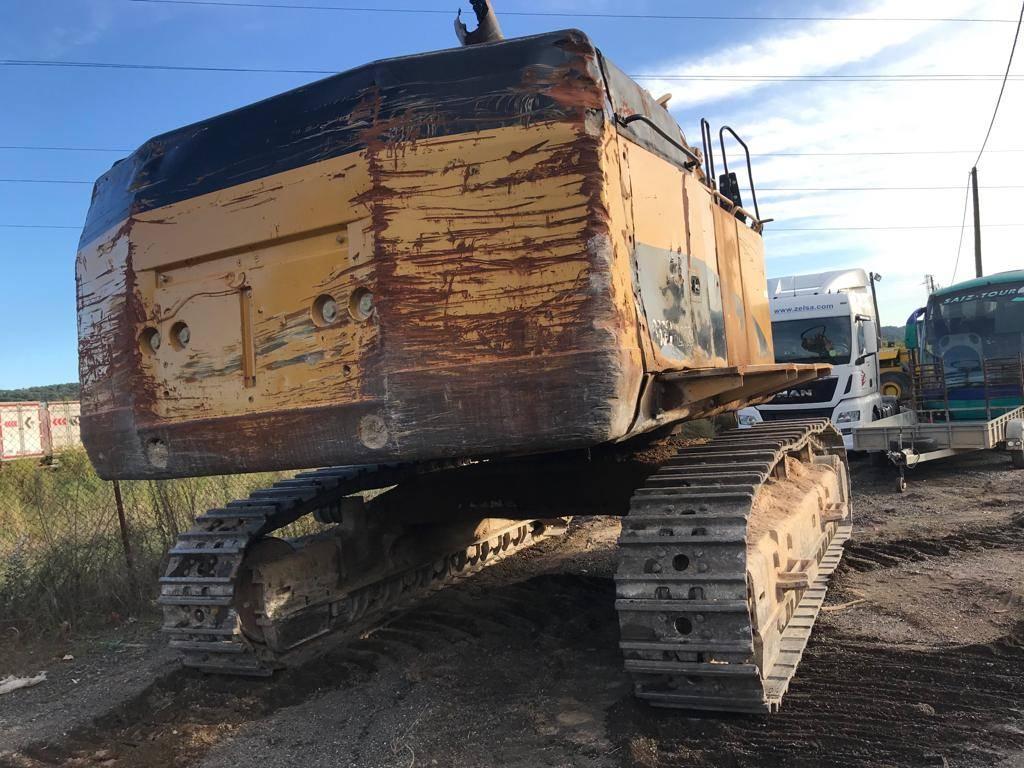 Caterpillar 365 C L ME, Excavadoras de cadenas, Construcción