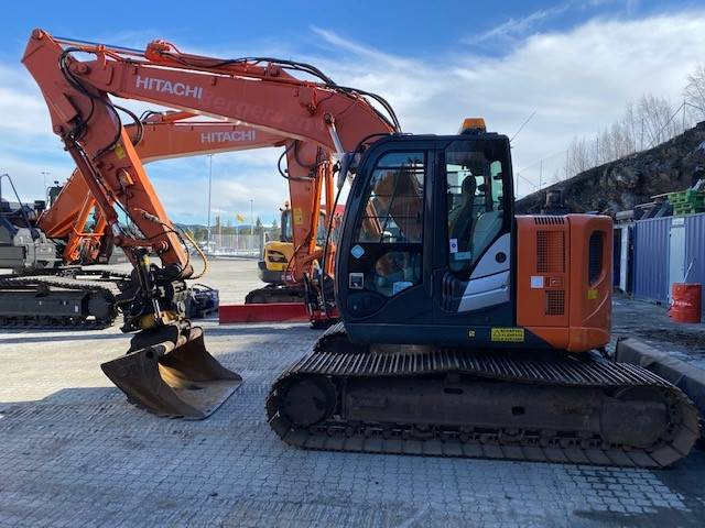 Hitachi ZX 135 US-5, Crawler Excavators, Construction Equipment