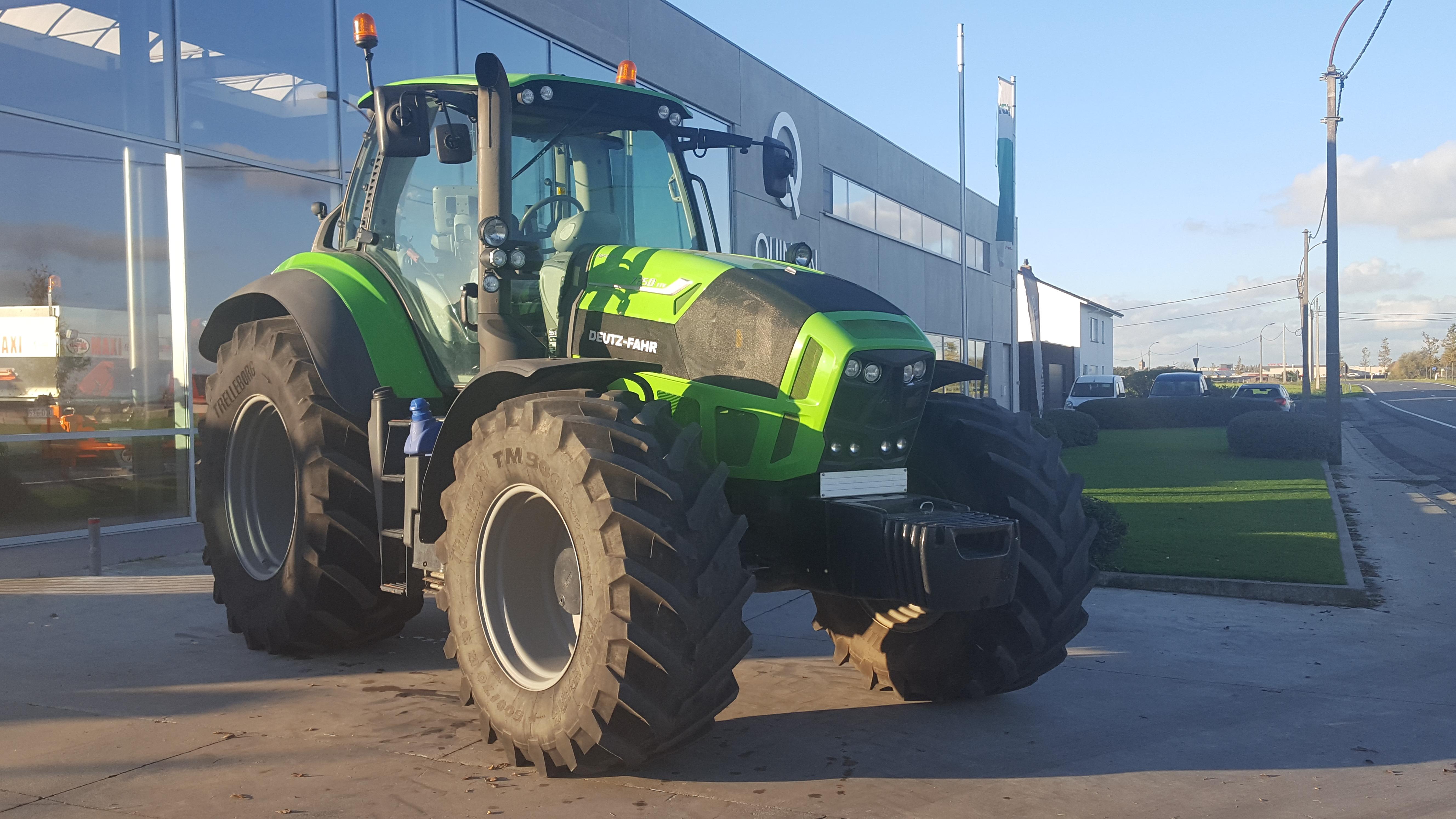 Deutz 7250, Tractoren, Landbouw