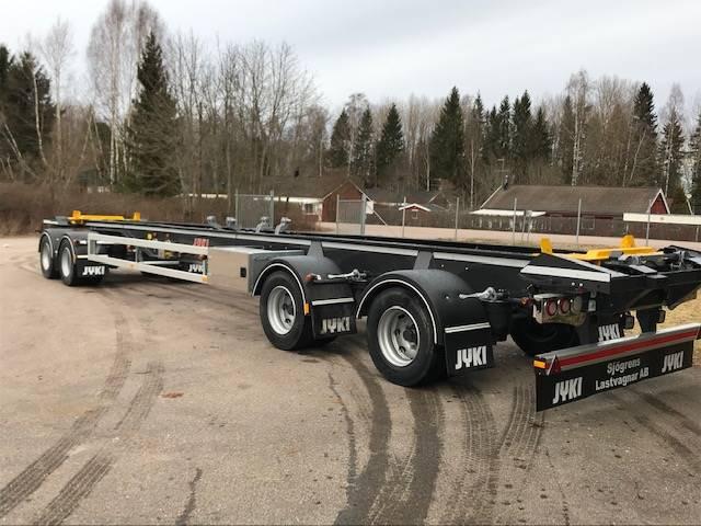 Jyki lastväxlarvagn/lastväxlarsläp 4 axl Lastväxlarvagn, Lastväxlarsläp, Transportfordon