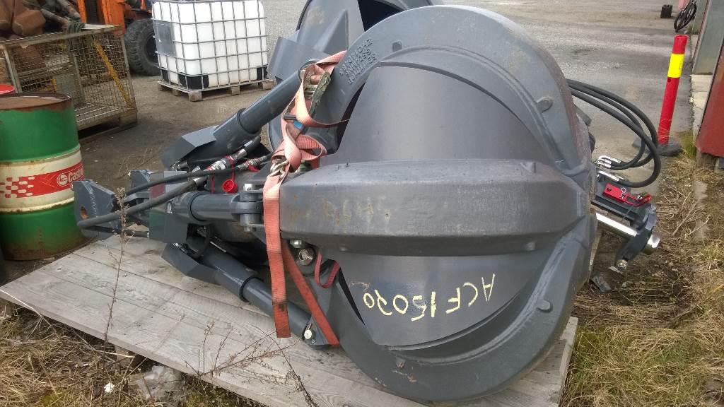 Fuchs HDMS 0,6 Polygrabb (Ny), Redskapsbærere, Anlegg