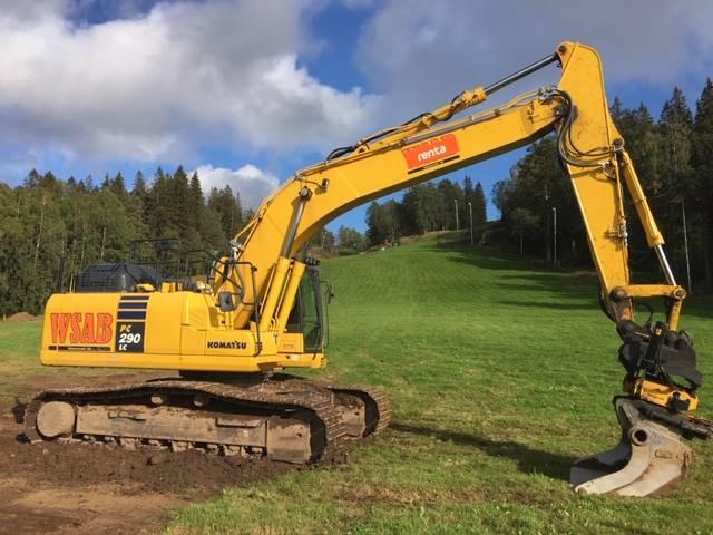 Komatsu PC290LC-11, Crawler Excavators, Construction Equipment