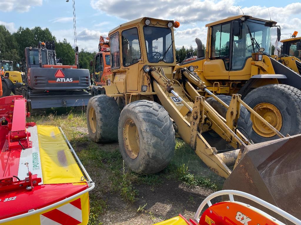 Caterpillar 910, Hjullastare, Entreprenad