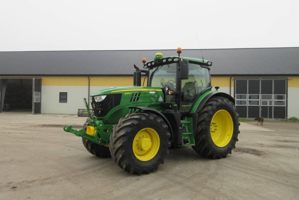 John Deere 6155R traktor, 50 reg, all utr, 900 tim, Lantbruksmaskiner, Lantbruk