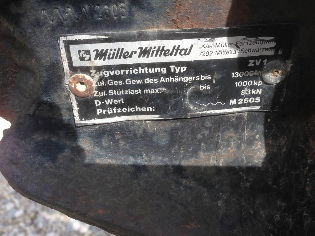 Müller-Mitteltal Kabelrollenwagen ZV1, Andere, Baumaschinen