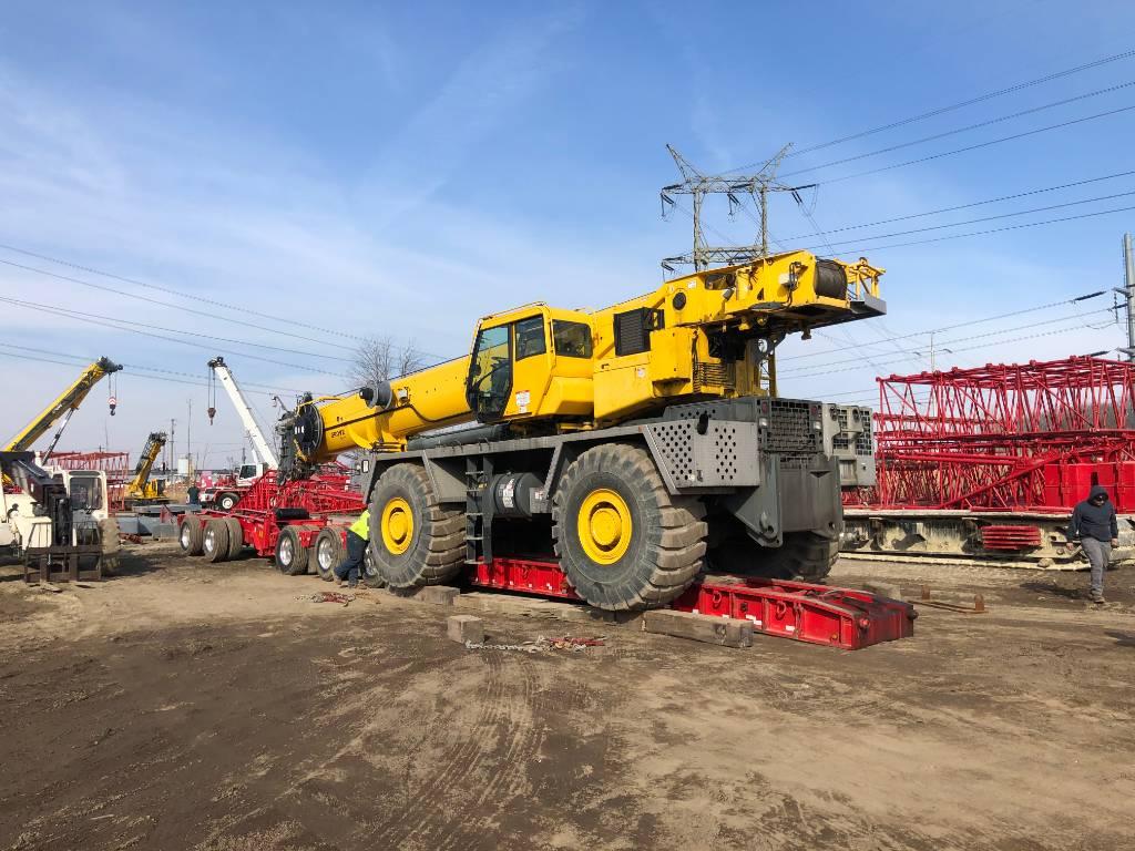 Grove RT9150E, Tower Cranes, Construction Equipment