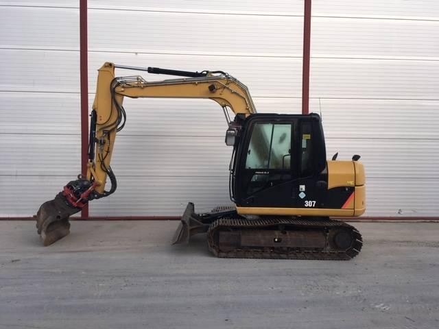 Caterpillar 307D, Midigraafmachines 7t - 12t, Bouw