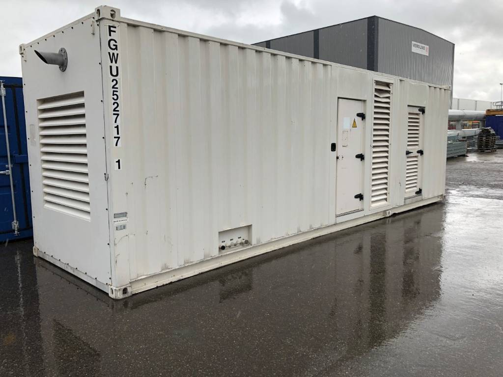 Olympian GEH 275 - Generator Set - 275 kVa - 30FT container, Diesel Generators, Construction