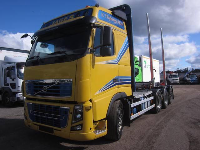 Volvo FH750 8x4, Timmerbilar, Transportfordon