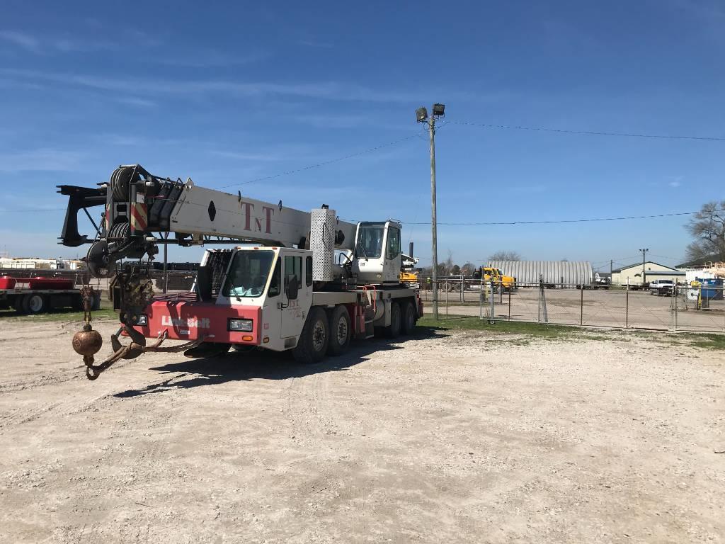 Link-Belt HTC-8660, All Terrain Cranes and Hydraulic Truck Cranes, Construction Equipment