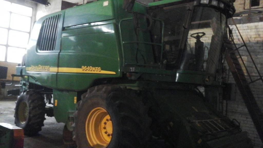 John Deere 9640 WTS, Kombainid, Põllumajandus
