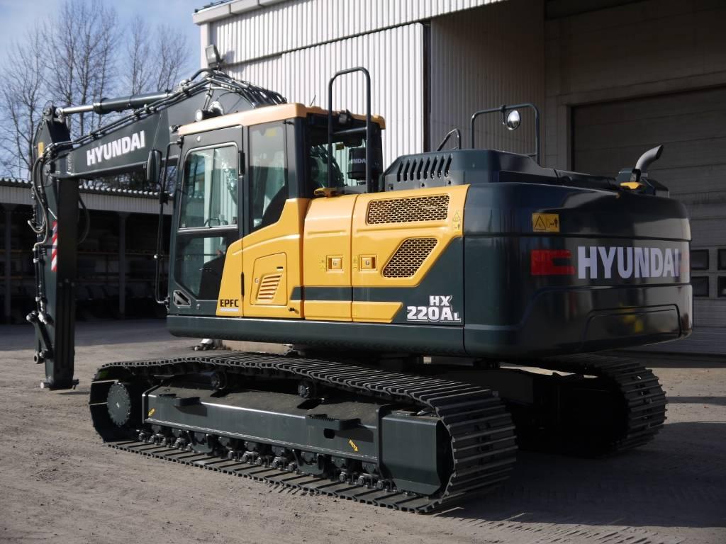 Hyundai HX 220 AL, Telakaivukoneet, Maarakennus