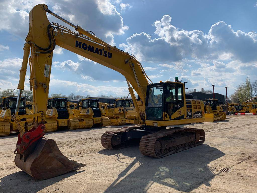 Komatsu HB215LC-2, Crawler Excavators, Construction Equipment