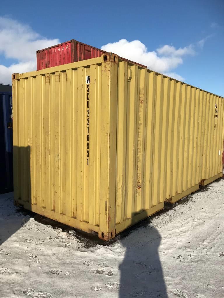 [Other] Container 20 fot, Övrigt, Entreprenad