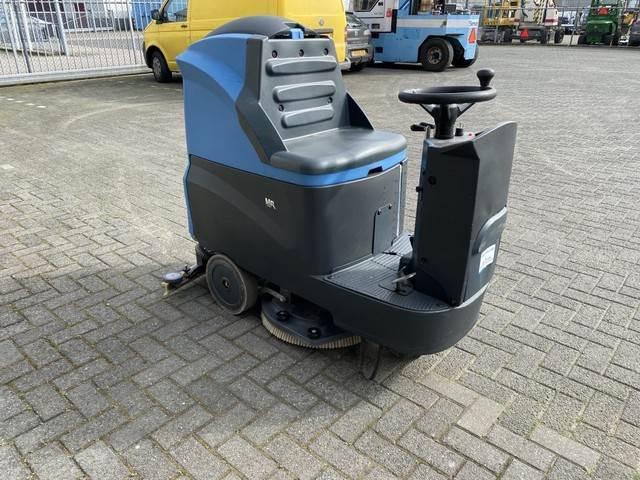 Fimap Opzit schrobmachine, 60cm. Accu, Veegmachines voor binnen, Laden en lossen
