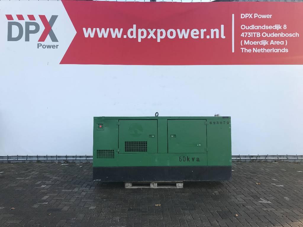 Gesan DPS60 - Perkins - 65 kVA Generator - DPX-12160, Diesel generatoren, Bouw